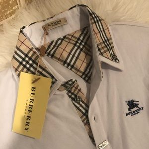 Burberry Men's Polo Shirt New